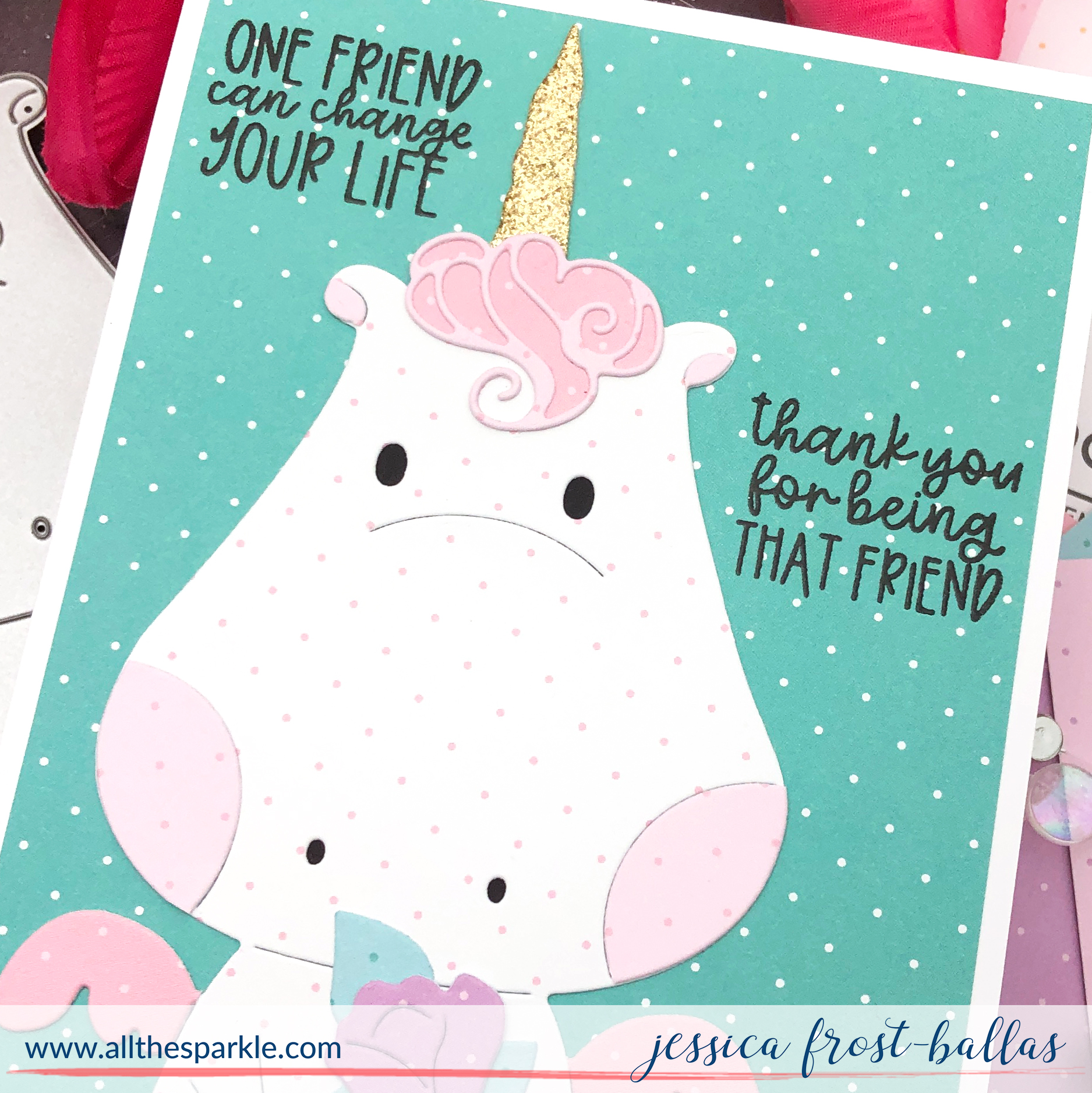 Be a Unicorn by Jessica Frost-Ballas for Waffle Flower