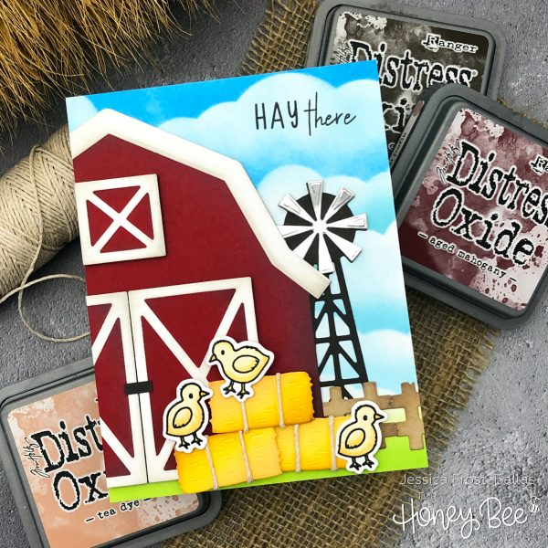 Hay There by Jessica Frost-Ballas for Honey Bee Stamps