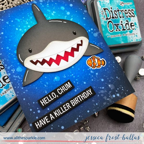 Hello Chum by Jessica Frost-Ballas for MFT Stamps