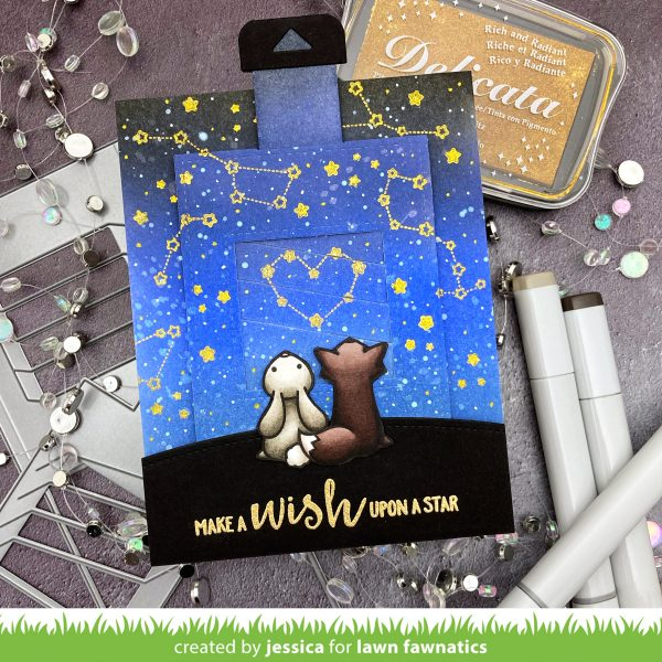 Make a Wish Upon a Star by Jessica Frost-Ballas for Lawn Fawnatics