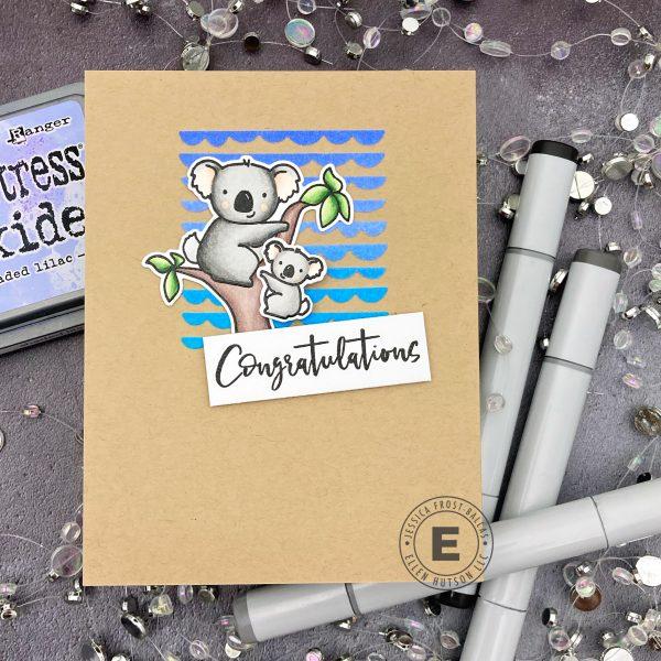 Congratulations by Jessica Frost-Ballas for Ellen Hutson
