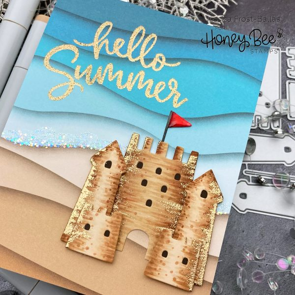 Hello Summer by Jessica Frost-Ballas for Honey Bee Stamps