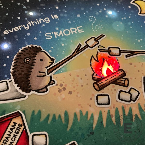 S'More the Merrier by Jessica Frost-Ballas for Ellen Hutson and Lawn Fawn