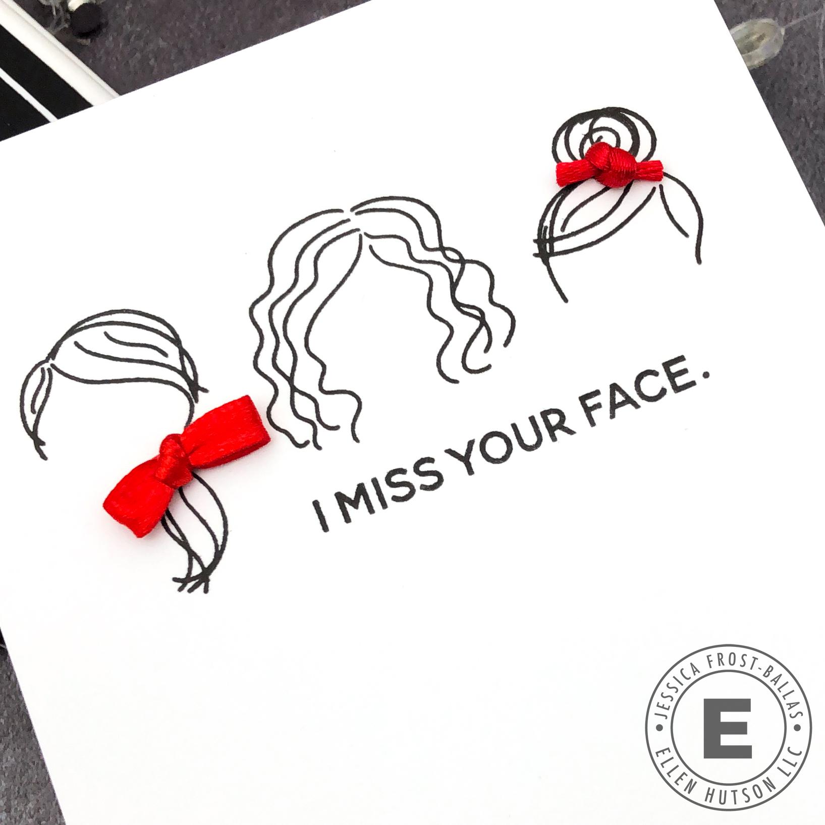 Mini Voices in my Head by Jessica Frost-Ballas for Ellen Hutson