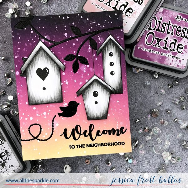Welcome Home by Jessica Frost-Ballas for Gina K Designs