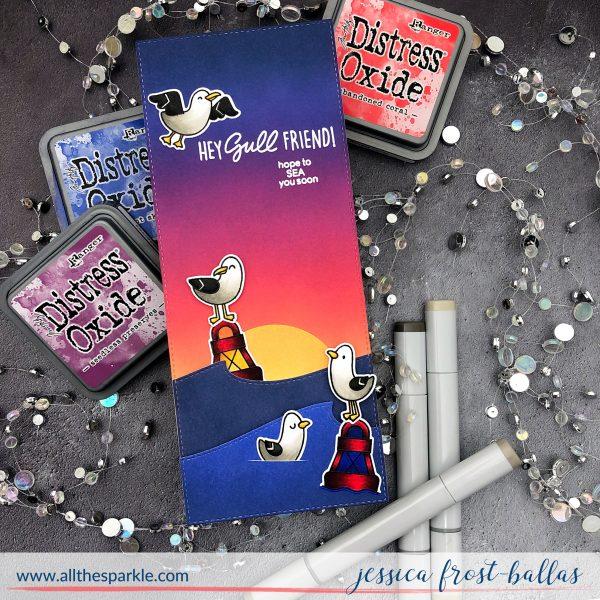 Hey Gullfriend by Jessica Frost-Ballas for Heffy Doodle