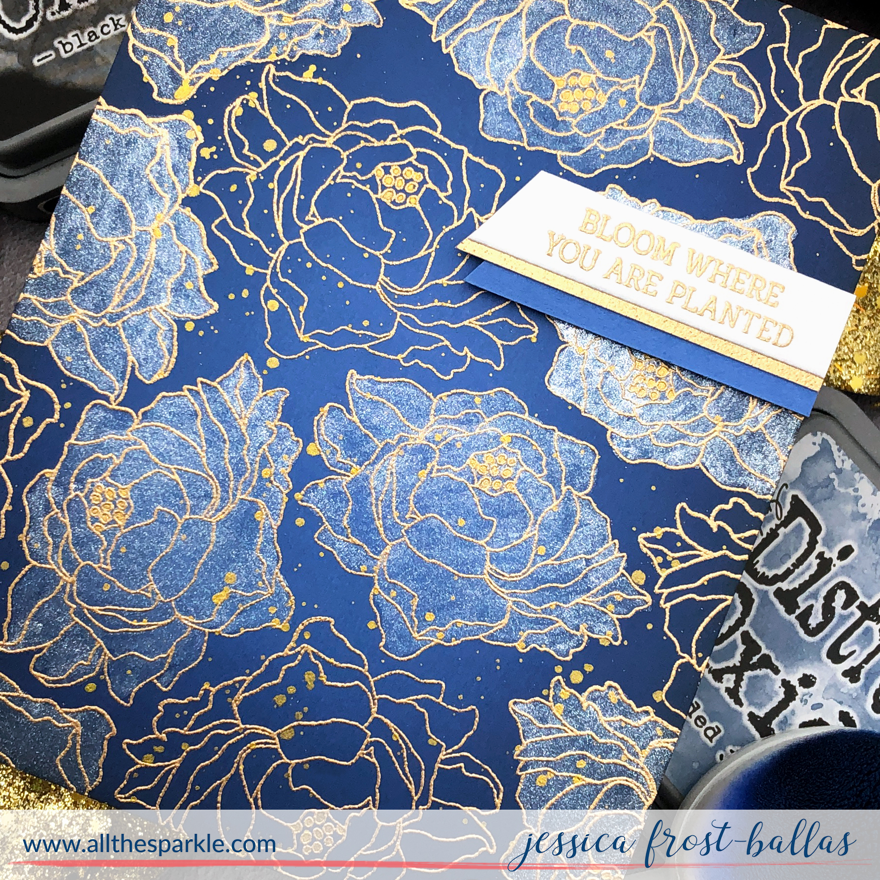 Flamingo Botanical by Jessica Frost-Ballas for Rabbit Hole Designs