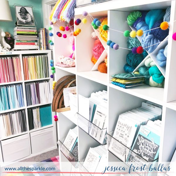 Craft Room Tour with Jessica Frost-Ballas