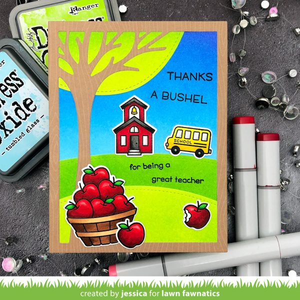 Thanks a Bushel by Jessica Frost-Ballas for Lawn Fawnatics