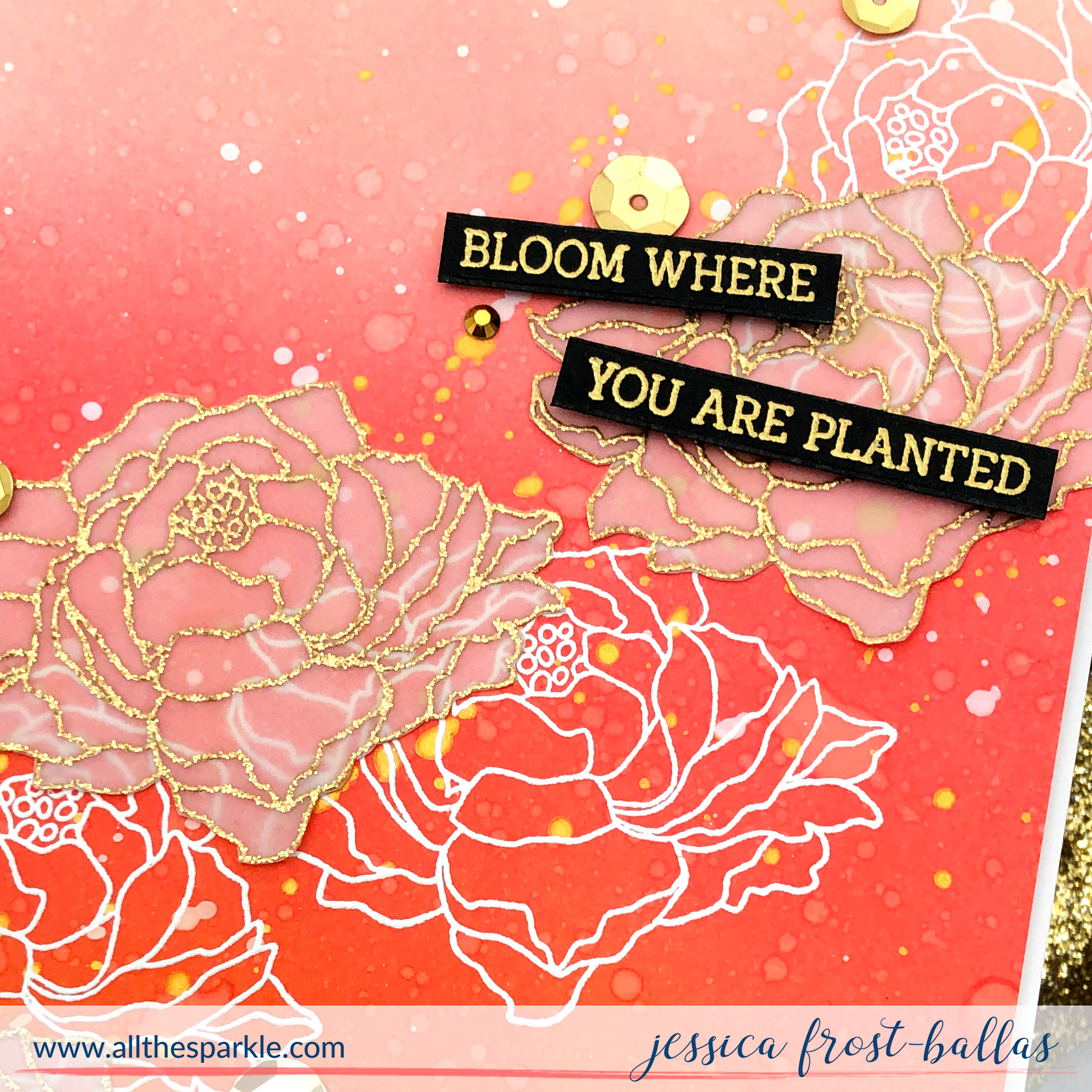 Flamingo Botanical by Jessica Frost-Ballas for The Rabbit Hole Designs