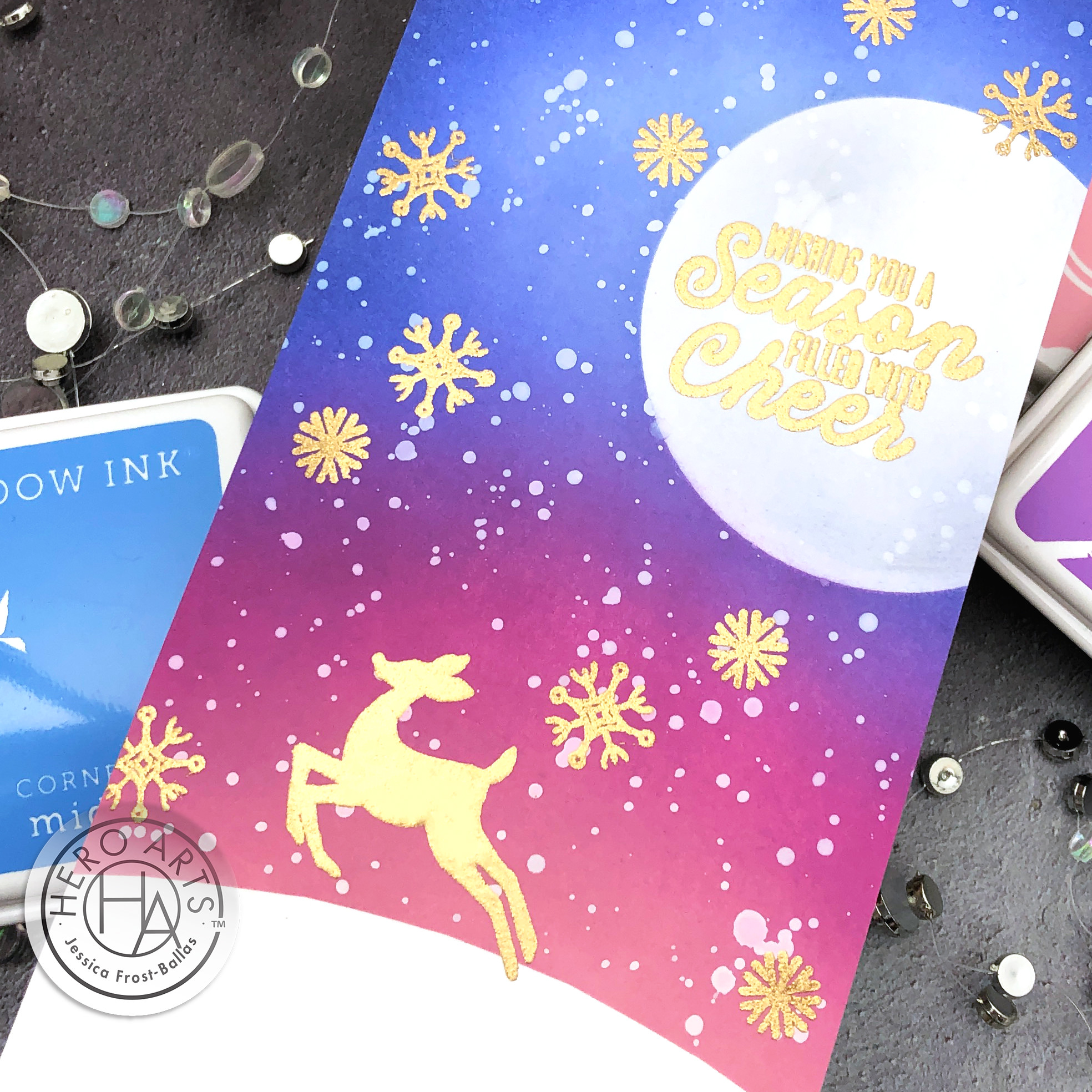 October My Monthly Hero Kit by Jessica Frost-Ballas for Hero Arts