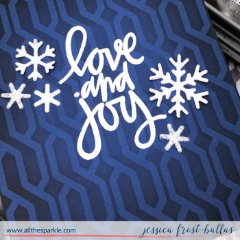 Cable Knit Sweater Stencil by Jessica Frost-Ballas for MFT Stamps