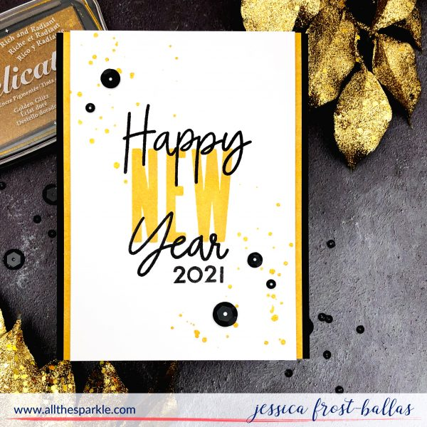 Happy New Year by Jessica Frost-Ballas for Concord & 9th