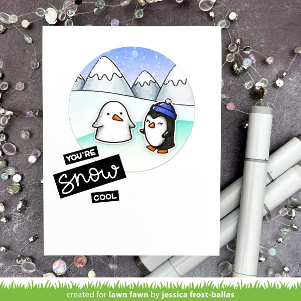 Snow Cool by Jessica Frost-Ballas for Lawn Fawn