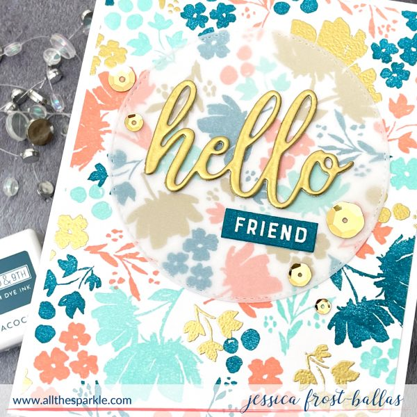 Painted Petals Turnabout Tool Kit by Jessica Frost-Ballas for Concord and 9th