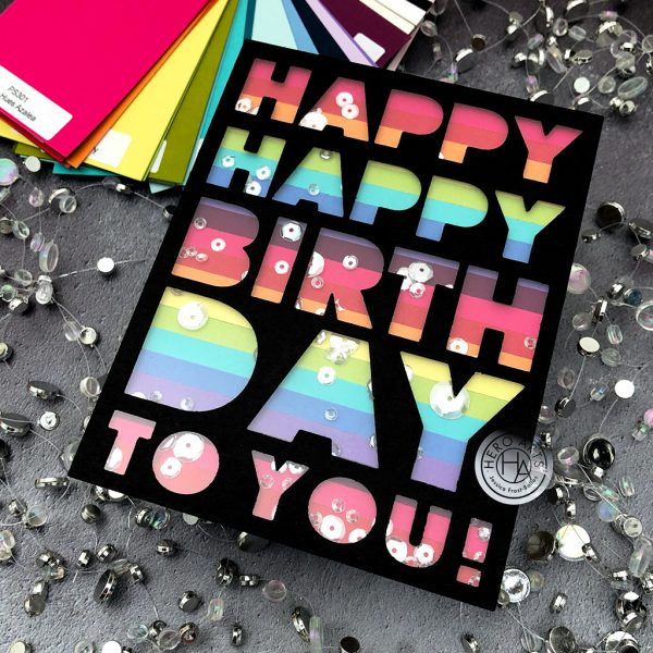 Happy Birthday To You by Jessica Frost-Ballas for Hero Arts