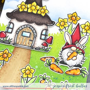 Spring Gnomes by Jessica Frost-Ballas for MFT Stamps