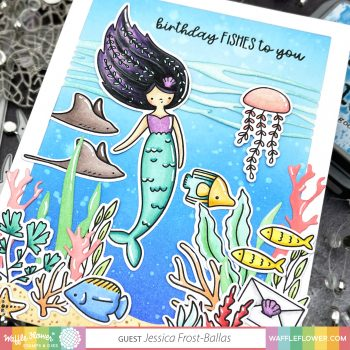 Mermaid Mail by Jessica Frost-Ballas for Waffle Flower