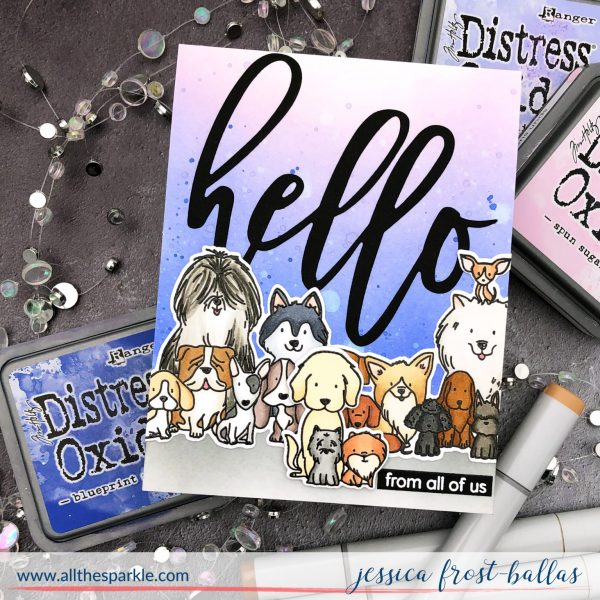 Puppy Power by Jessica Frost-Ballas for Waffle Flower