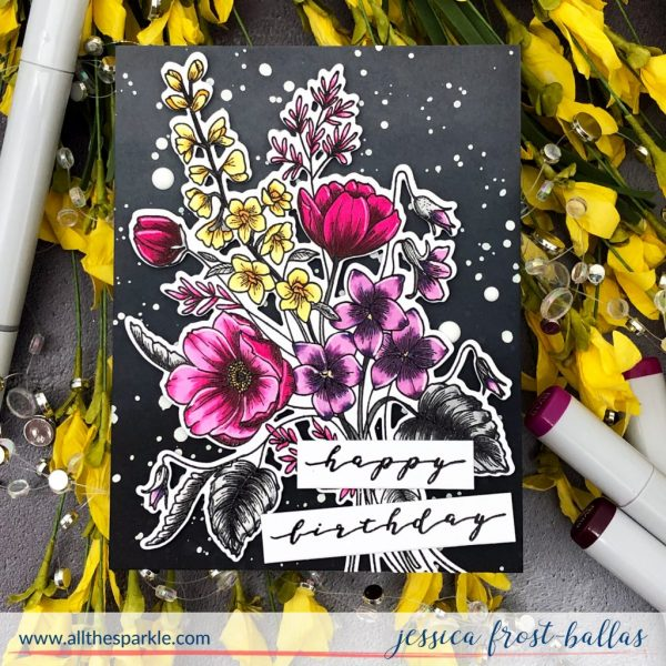 Bouquet Builder 3 for Waffle Flower by Jessica Frost-Ballas