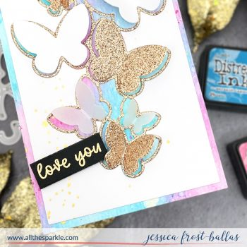 Flying Butterflies by Jessica Frost-Ballas for Waffle Flower