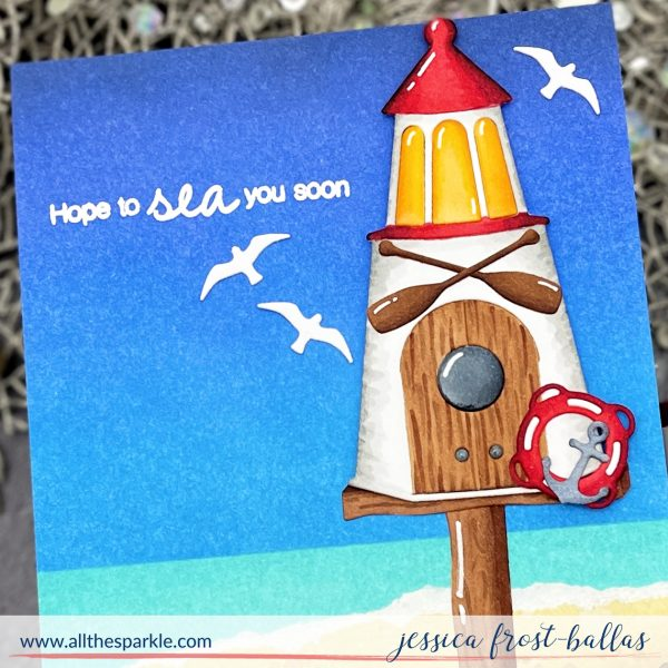 Birdhouses Through the Seasons by Jessica Frost-Ballas for Spellbinders
