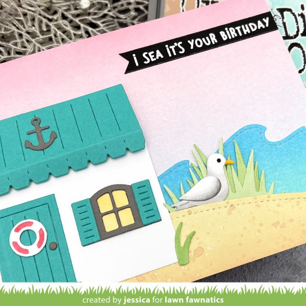 Beach House Add On by Jessica Frost-Ballas for Lawn Fawnatics