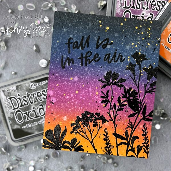 Bold Botanicals by Jessica Frost-Ballas for Honey Bee Stamps