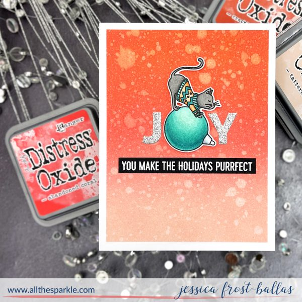 Joy by Jessica Frost-Ballas for MFT Stamps